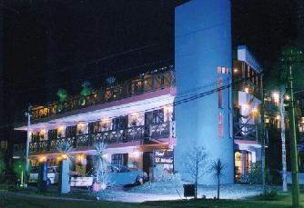 Vista Nocturna del Hotel el Mirador